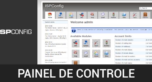 Painéis de controle GRÁTIS! Parte 6 de 6 – Como instalar o painel de controle ISPConfig no CentOS