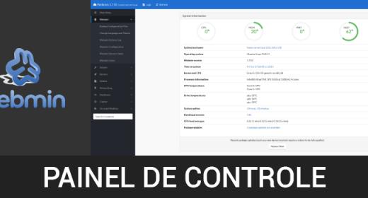 Painéis de controle GRÁTIS! Parte 5 de 6 – Como instalar o painel de controle Webmin com template responsive BWTheme no CentOS