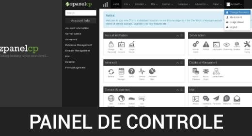Painéis de controle GRÁTIS! Parte 3 de 6 – Como instalar o painel de controle ZPanel no CentOS