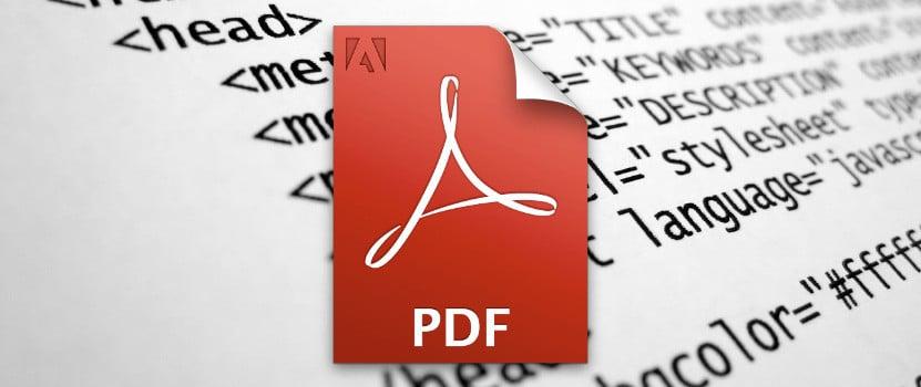 Converta PDF em HTML