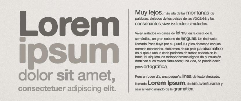 Como usar a criatividade para simular o layout com Lorem Ipsum