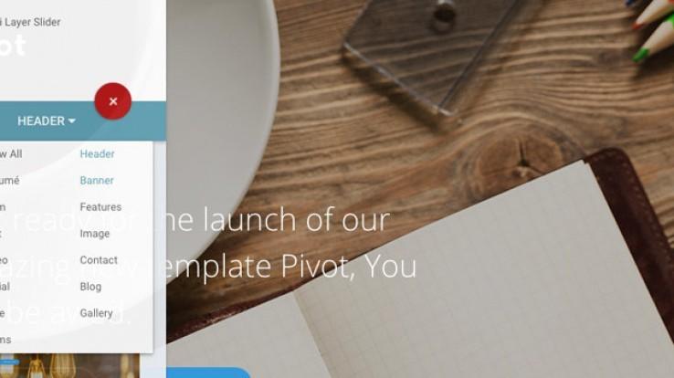 Crie belos sites com o Pivot, um editor visual de HTML que roda no navegador