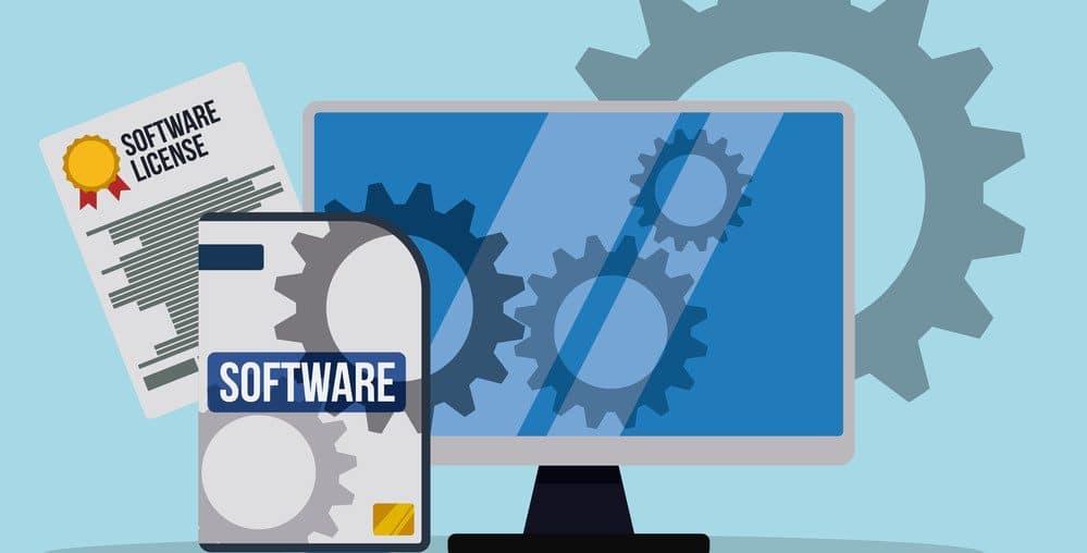 licença de software