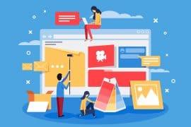 plataformas para criação de sites