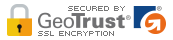 Secured by GeoTrust SSL Encryption